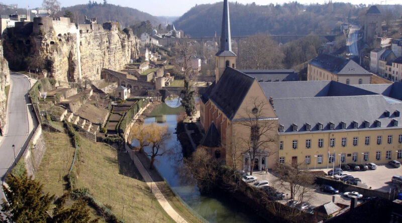 Luxembourg - фото центра города